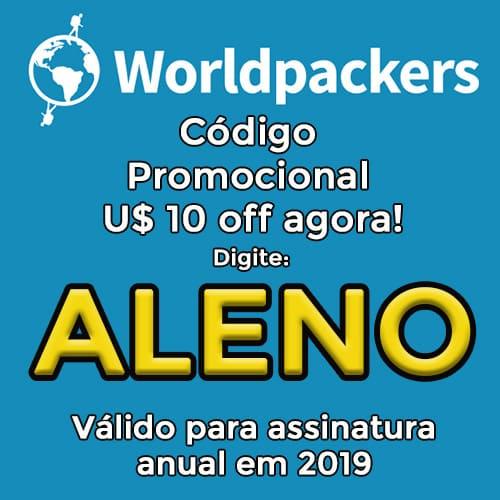 código promocional worldpackers 2019
